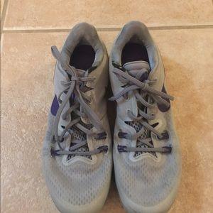 Nice Gray Nike shoes